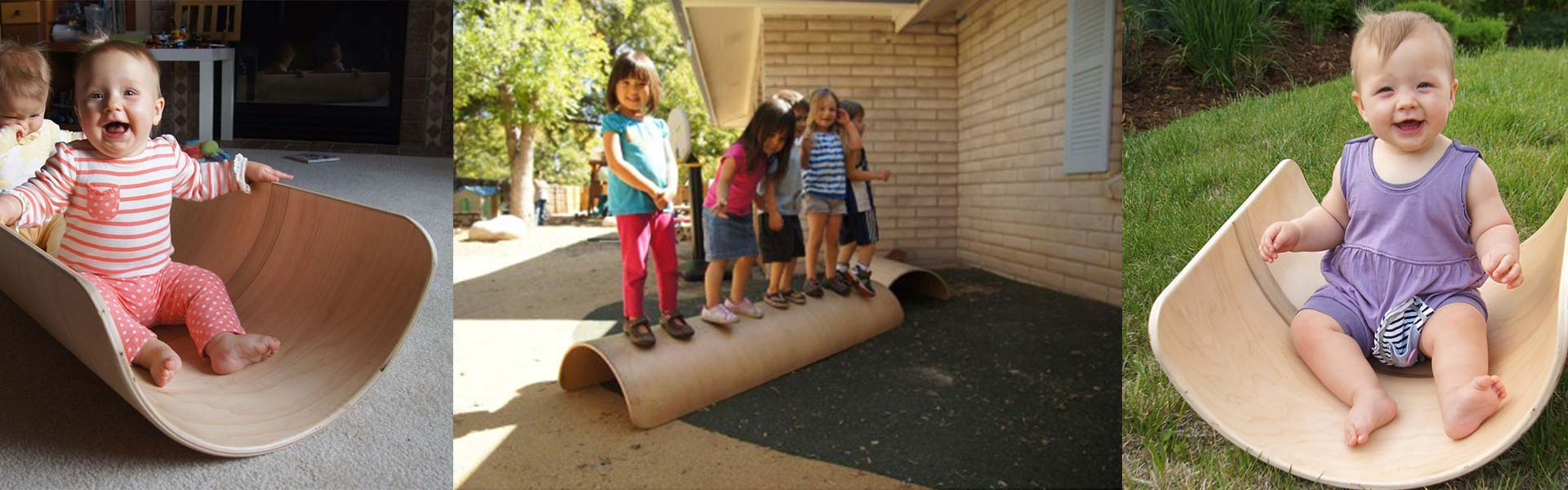 Children using a rotary die board in their playtime