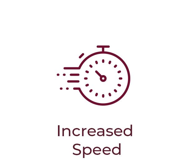 3 increased speed