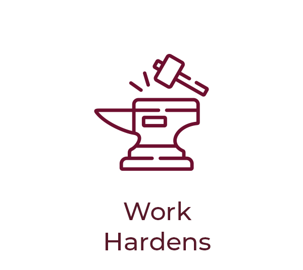 3 work hardens
